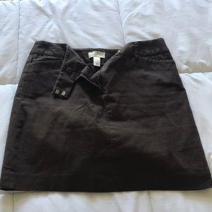 LOFT skirt - petite above knee